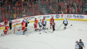 First Period Rawkus Flames and Penguins October 9, 2011