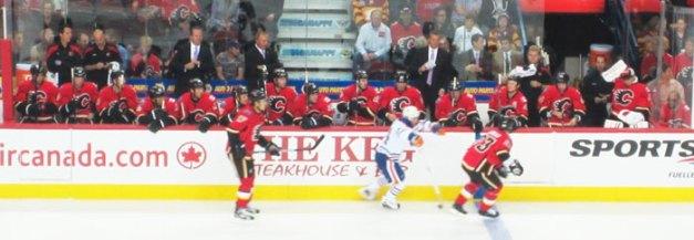 Calgary Flames Bench