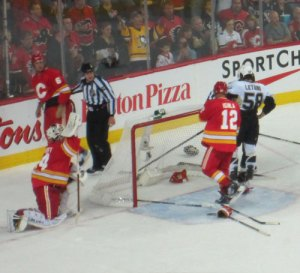 What the heck was Kiprusoff doing here?
