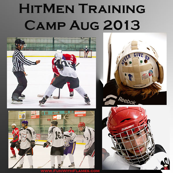 Calgary Hitmen Training Camp August 2013 WinSport
